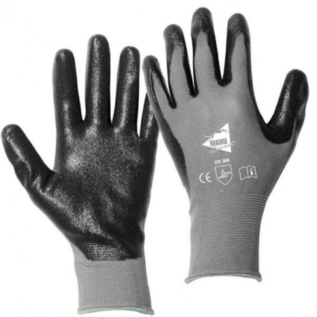 Paires de gants manutention moyenne Nitrile 3121- Manusweet - MM021