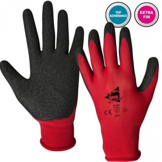 Paires de gants manutention moyenne Latex - Manusweet - L2001
