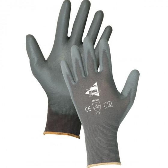 Paires de gant polyuréthane gris - Manusweet - MF103