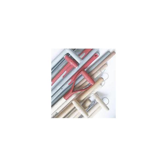 MANCHE BOIS pelle cintré 40 x 1300mm - Muller - 231022