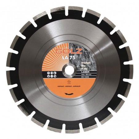 Disque diamant Asphalte Technique LA 75 Ø350 - Golz - LA75350